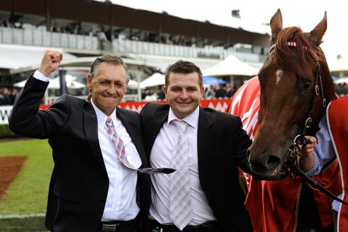 Triple Crown's exclusive trainers Peter & Paul Snowden