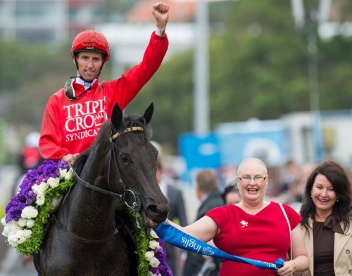 Peggy Jean following her Group 1 Sires Produce win
